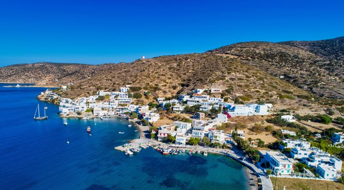 The beautiful island of Amorgos in the Cyclades is the place to experience the thrill of ...