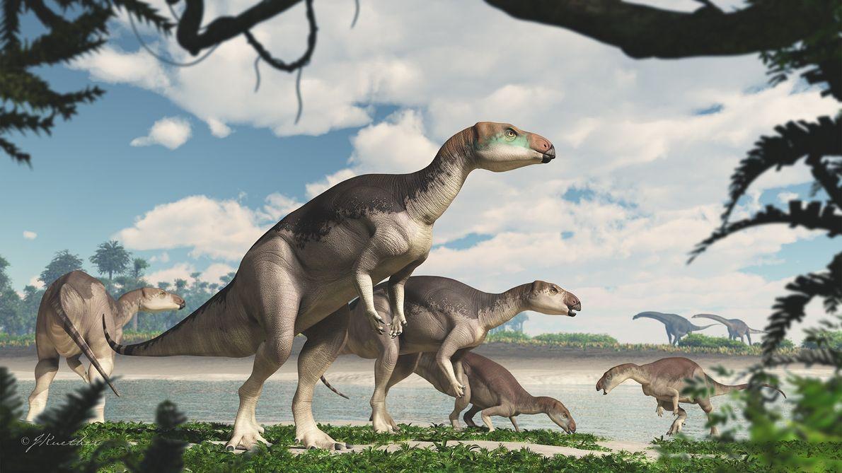 Exclusive: Gem-like fossils reveal stunning new dinosaur species