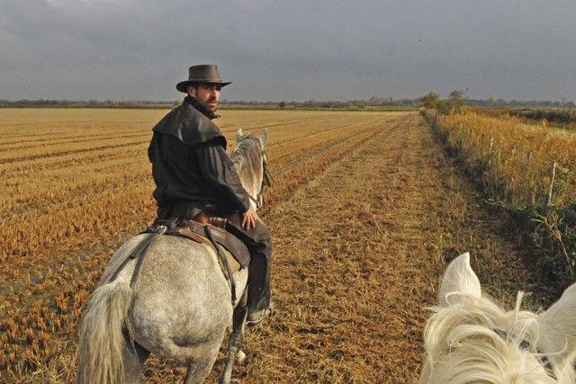 VANS Hand Painted Western Rodeo Cowboy