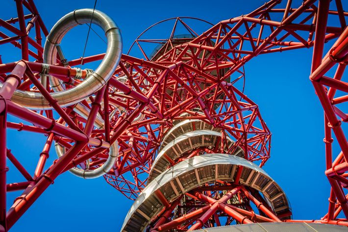 ArcelorMittal Orbit, by Anish Kapoor.