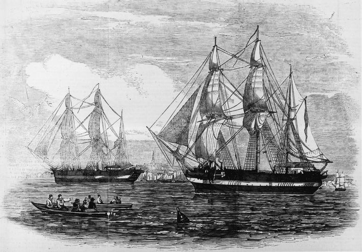 The H.M.S. Terror and Erebus were state-of-the-art naval vessels in 1845, when the Franklin expedition embarked ...