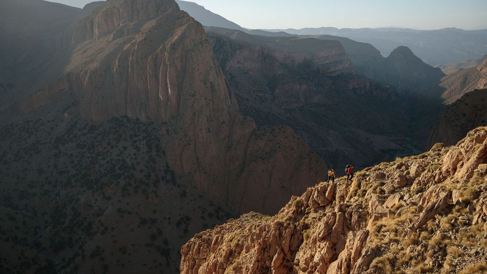 A Bird's-Eye View With the World's Greatest Free Solo Climber