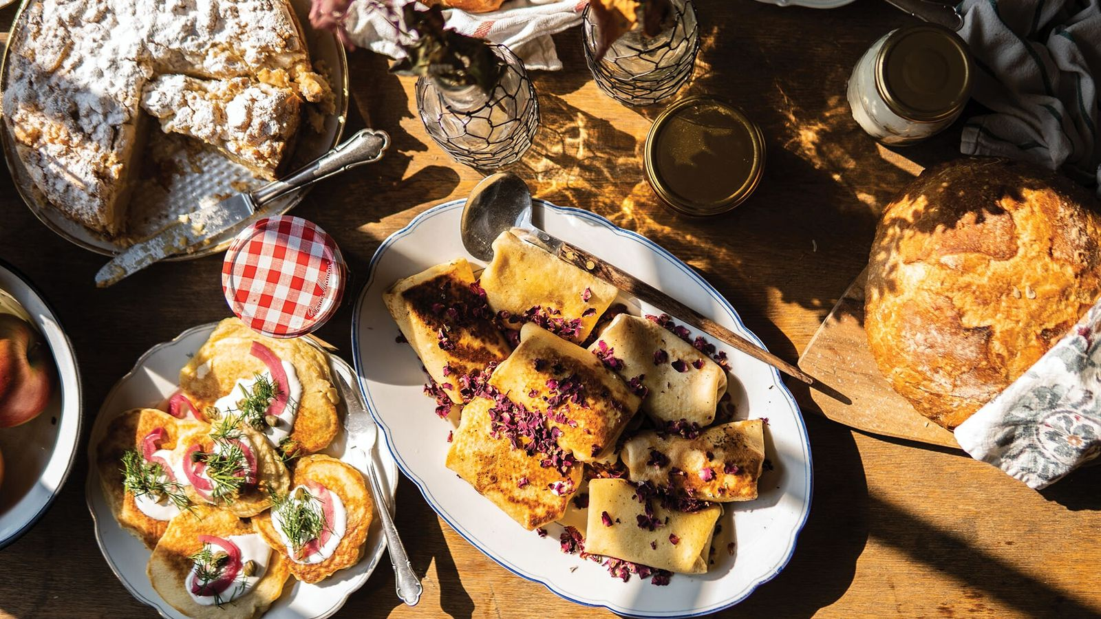 A full Polish breakfast is just one of the recipes available in Michał's new book.