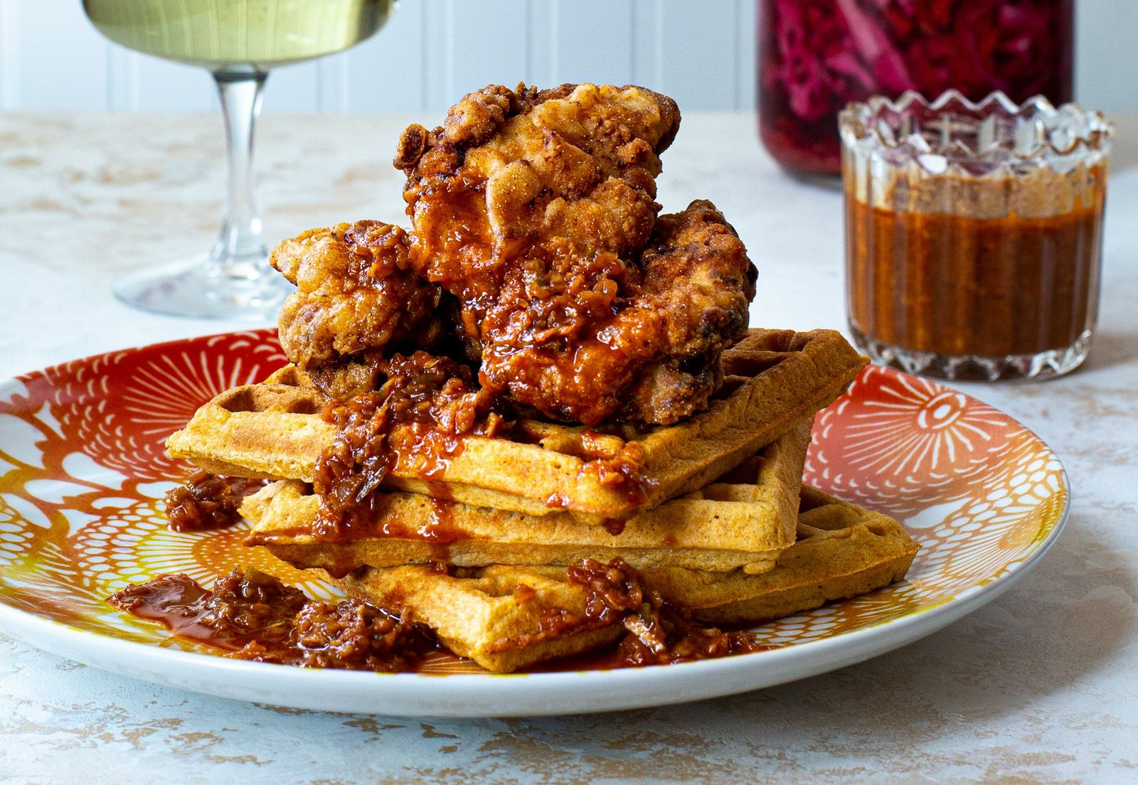 How to make the perfect fried chicken and waffles
