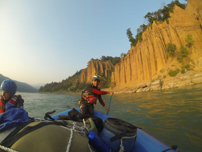 Spending so much time on the river has given Antonio great respect for water and nature.