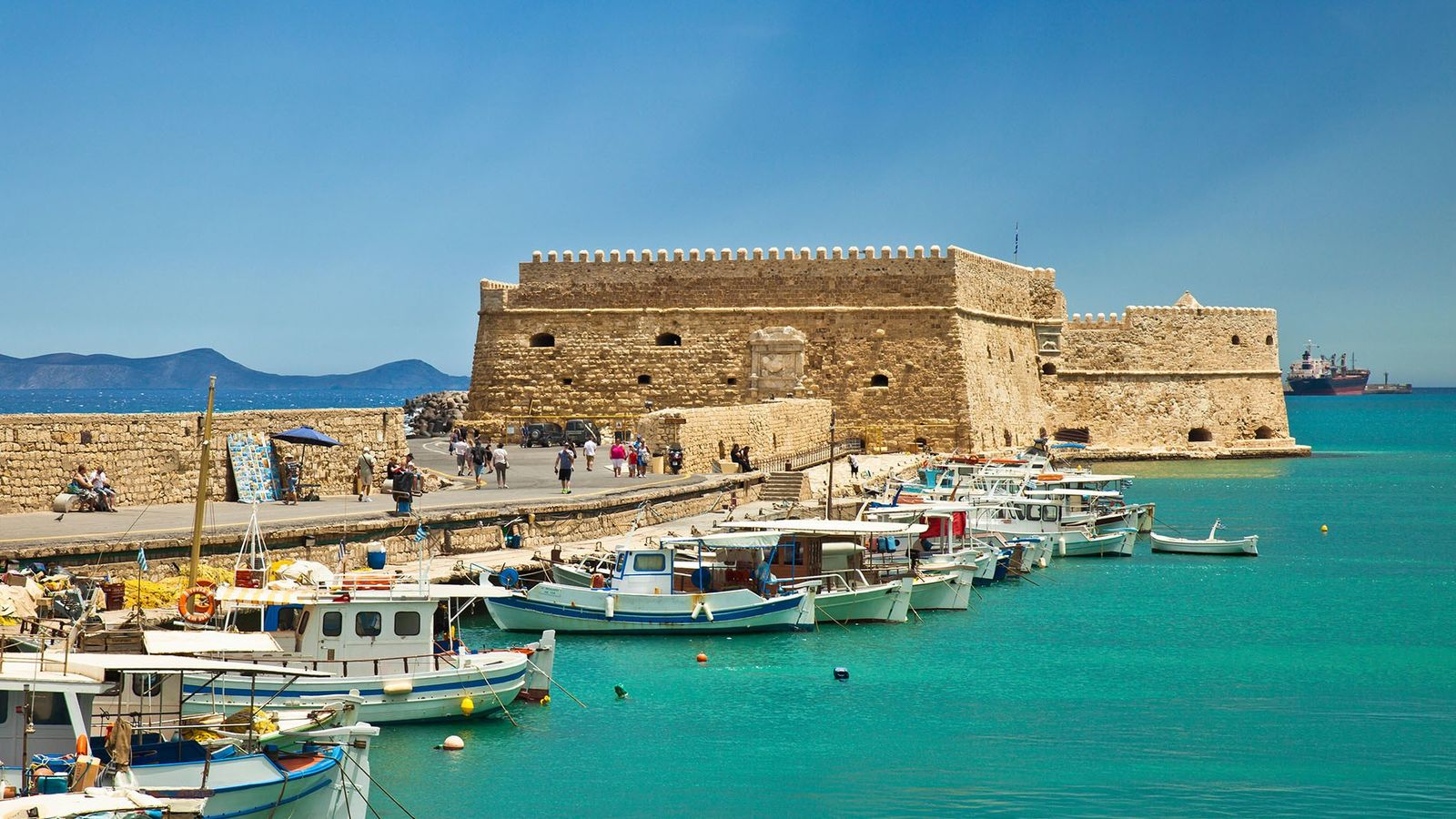 The capital of Crete, Heraklion, is famed for both the Palace of Knossos dating back to the Minoan civilisation and ...