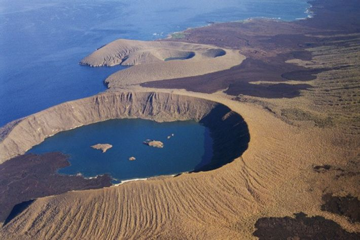 Volcanic craters, Isabela.