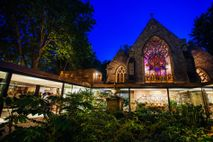 The Garden Museum at night. This small museum is a real treat for green-fingered horticulturalists and amateur ...