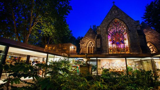 The Garden Museum at night. This small museum isa real treat for green-fingered horticulturalists and amateur ...