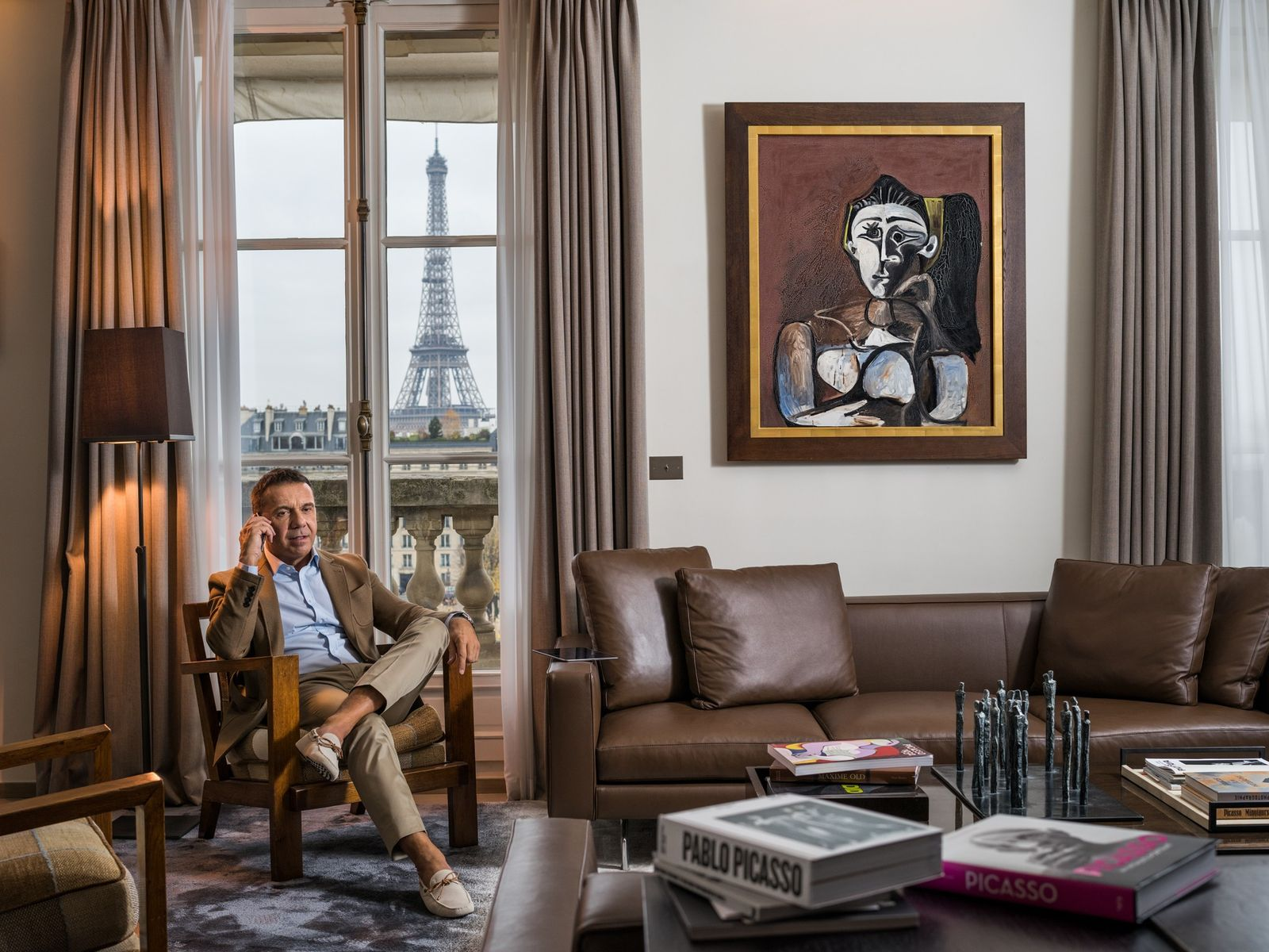 The legacy of genius looms large among family members. Olivier Widmaier Picasso never knew his grandfather ...