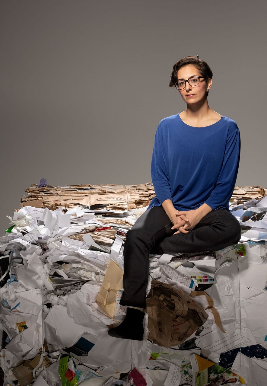 She sees rubbish as a precious commodity