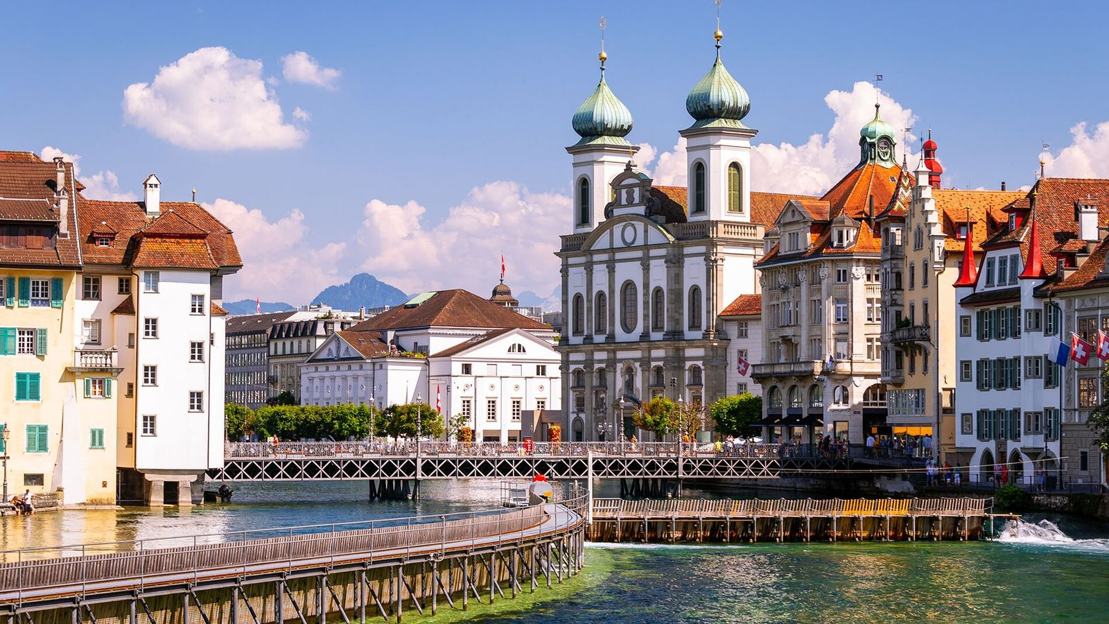 Situated in the heart of Switzerland, Lake Lucerne is the country's fourth largest, backed by Mount ...
