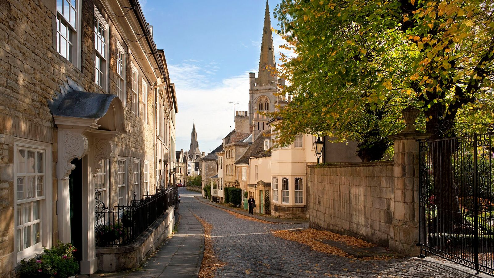 Barn Hill, Stamford. The Lincolnshire town is full of buttery Georgian architecture, excellent pubs and a vibrant ...