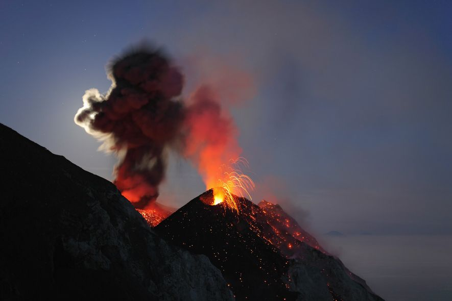 The frequent volcanic activity on Italy's Stromboli Island means that travellers are practically guaranteed a good ...
