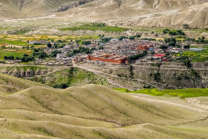 Lo Manthang, a centuries-old town in Upper Mustang, could be radically altered with the introduction of ...