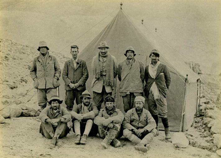 The 1924 Mount Everest team