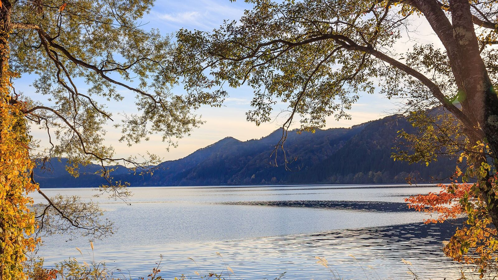 Lake Tazawa is Japan's deepest body of water, plunging to an astonishing 423 metres.