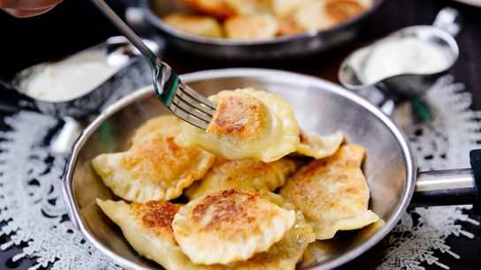 Pierogi, Poland's national dish, are stuffed, boiled and fried dumplings that can be sweet or savoury.