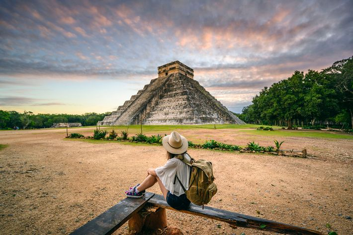 El Castillo pyramid at Chichén Itzá is one of theYucatán's most impressive archaeological sites.