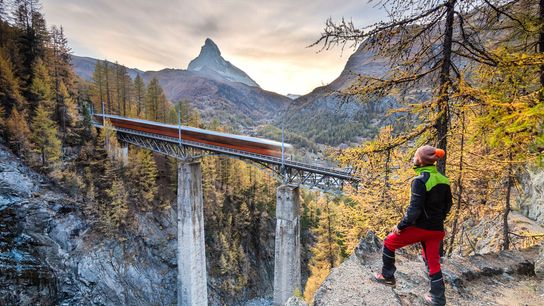 Trains are the best way to traverse Valais, and a two-day Adventure Card for the Matterhorn ...