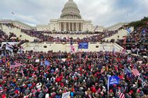 Supporters of President Donald Trump gathered outside the U.S. Capitol on Wednesday. Insurgents stormed the building ...
