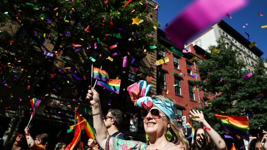 In 2020, New Yorkers celebrated 50 years since the first ever Gay Pride march in their city and ...