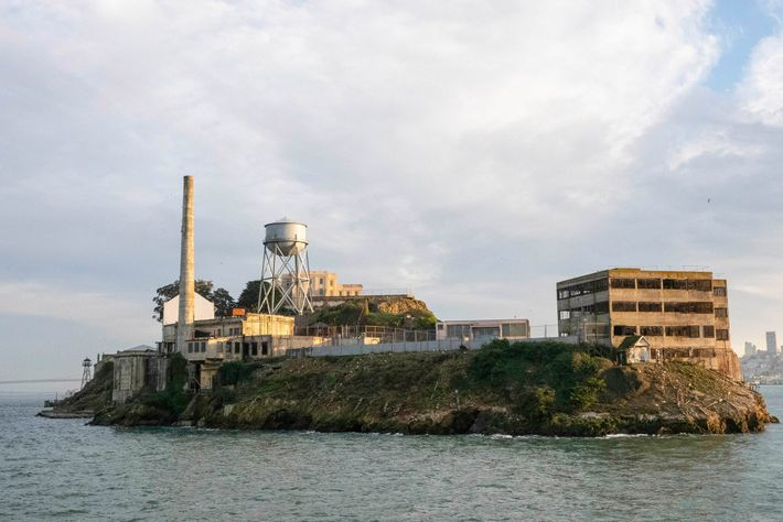 Alcatraz served as a military prison beginning in the 1860s, but it gained infamy as a ...