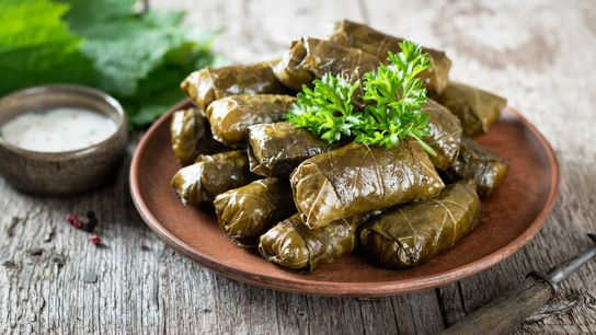 Ubiquitous in the Mediterranean, Caucasus and Middle East, these flavourful stuffed vine leaves are known by ...