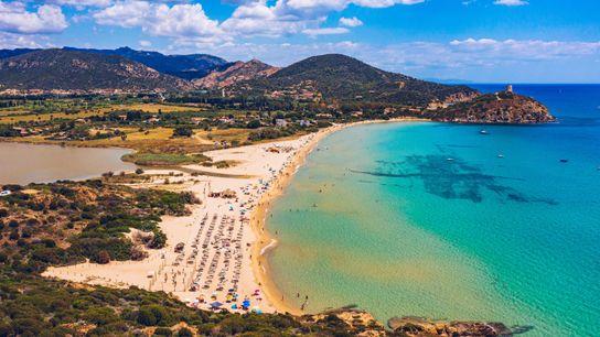 Chia Bay, Sardinia