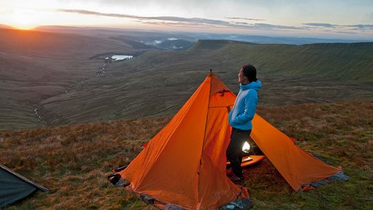 In Wales, campsites offering just a handful of pitches often tick the most wild camping boxes ...