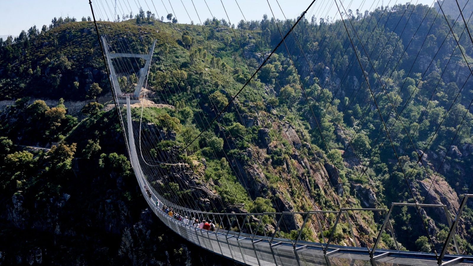 World's Longest Pedestrian Bridge In Arouca, Portugal, Becomes A Major Tourist Attraction