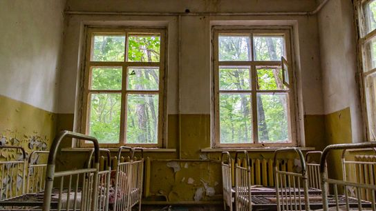 Several tour companies exist to send visitors to the Chernobyl exclusion zone and ghost town left ...