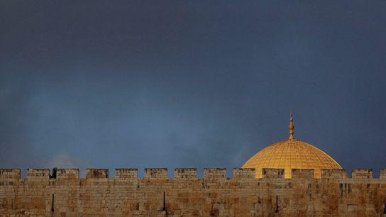 Temple Mount Ariel