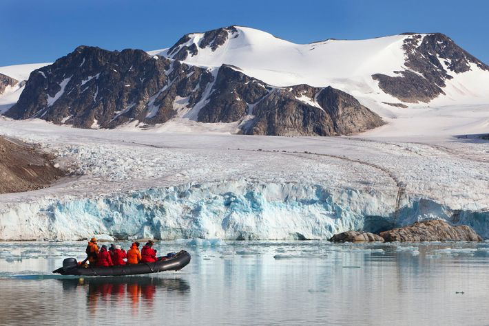 Governed by Norway under treaty, and shared with Russia, Svalbard is a place where you get ...
