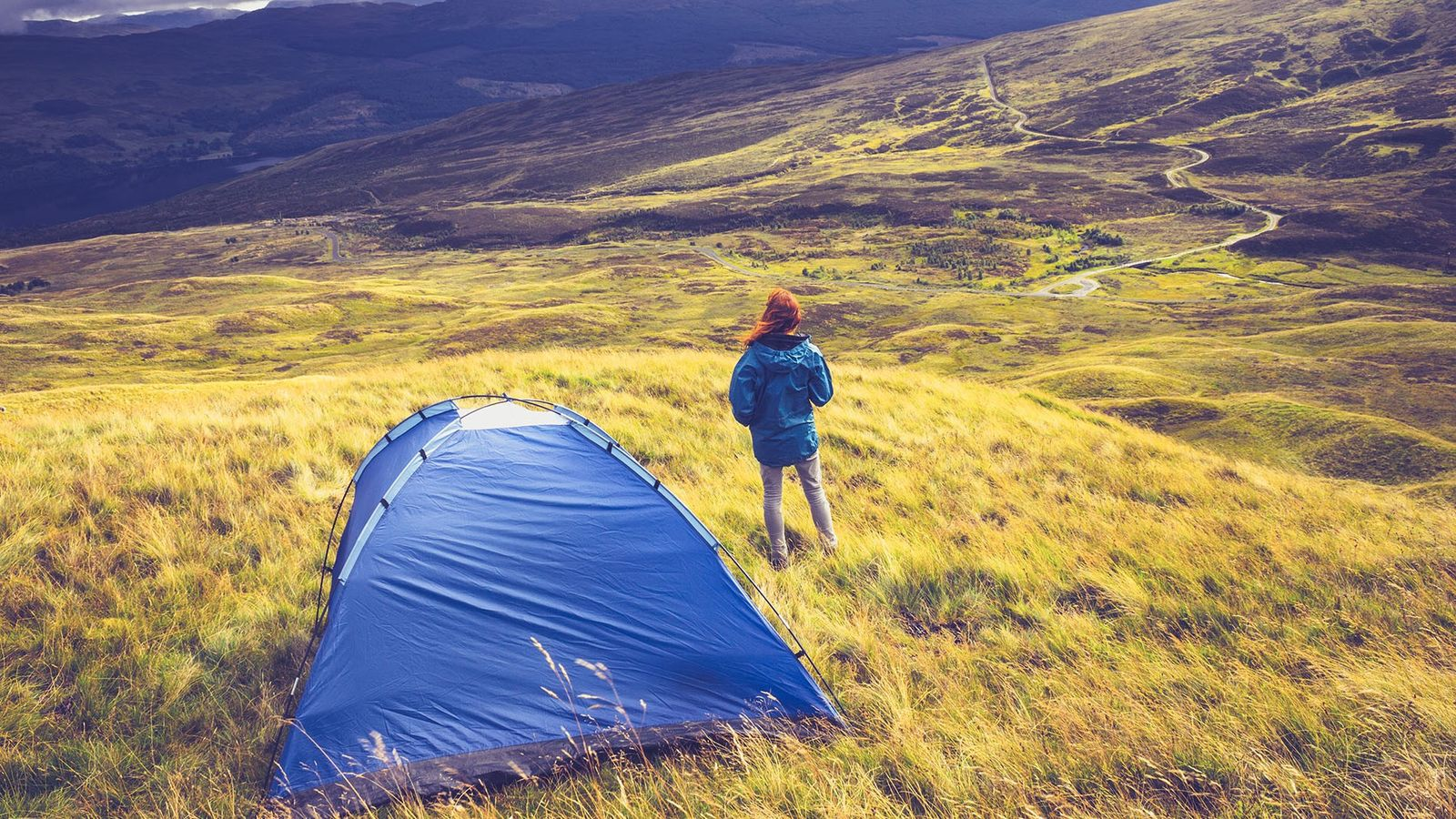 Wild camping means pitching up in an untamed, non-campsite environment.