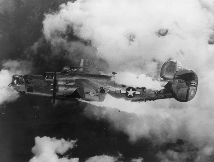 Doomed B-24