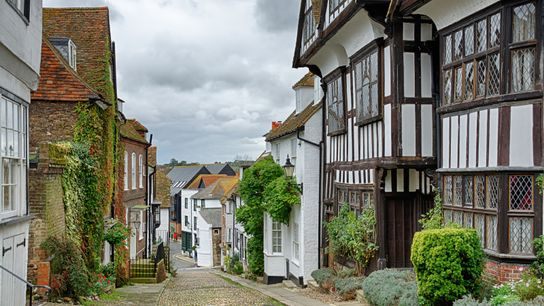 Mermaid Street, in the English town of Rye