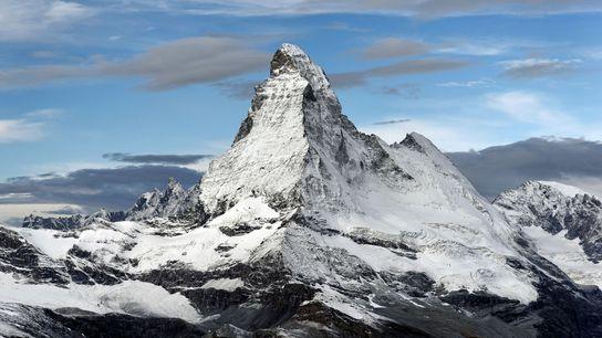Author Mark Twain's verdict on the Matterhorn was: 'Grand, gloomy and peculiar'.