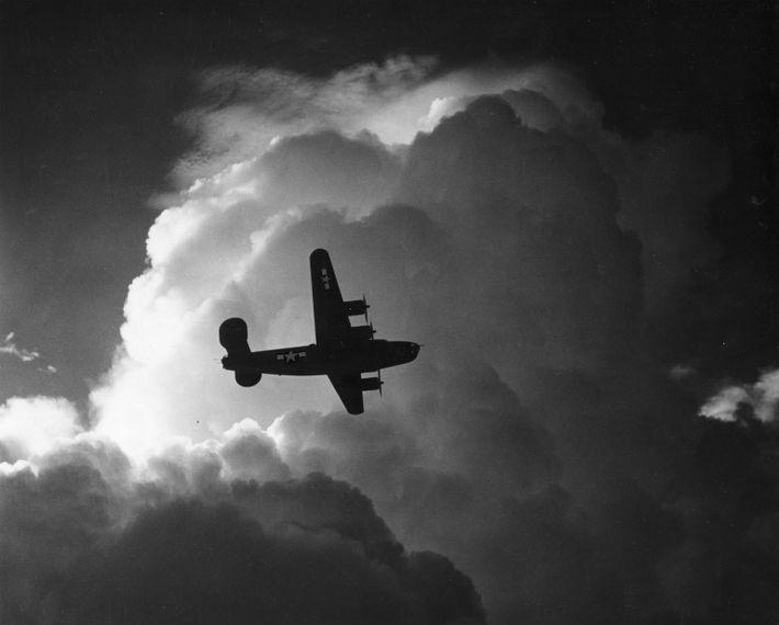 B-24 In Flight