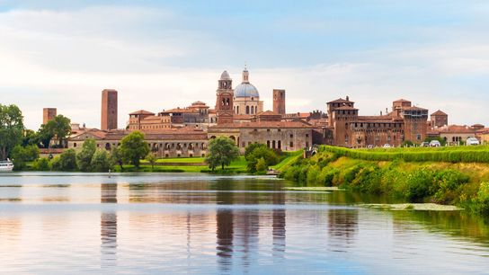 Mantua is a perfect starting point from which to discover Lombardy's historical sites.