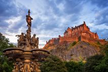 Edinburgh Castle dominates the city's skyline and its stone walls house St Margaret's Chapel, the oldest ...