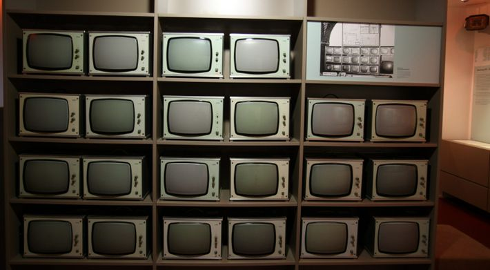 Germany Stasi- observation screens