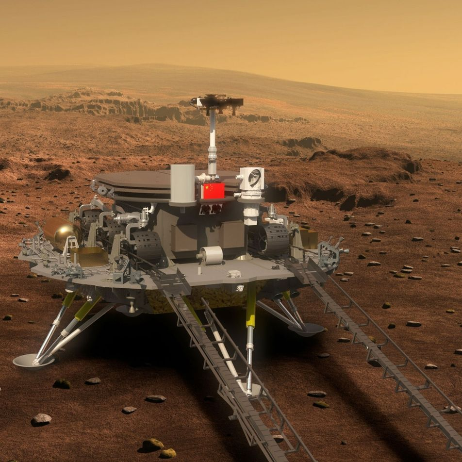 China is about to try a high-stakes landing on Mars