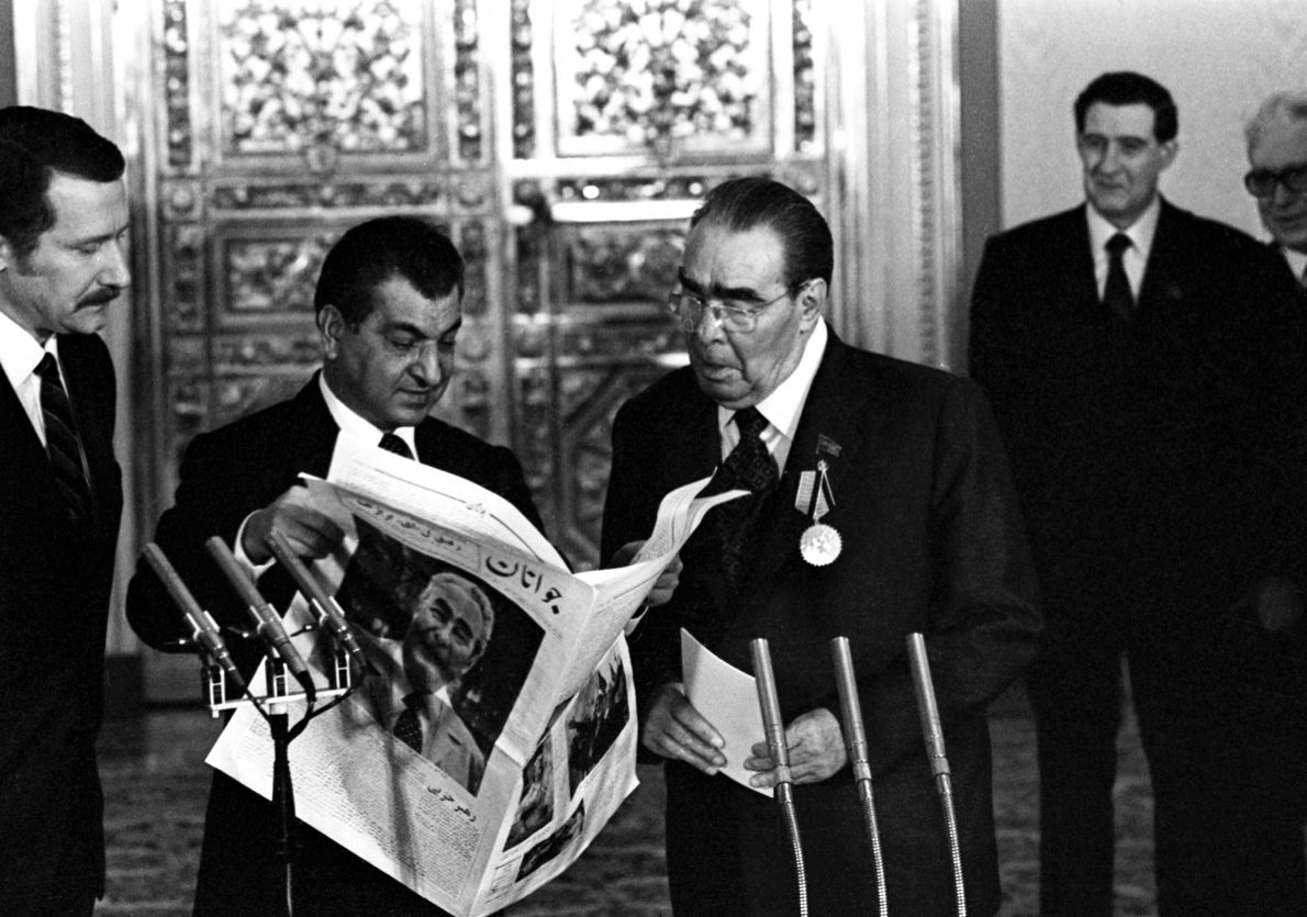 Leonid Brezhnev's 75th Birthday