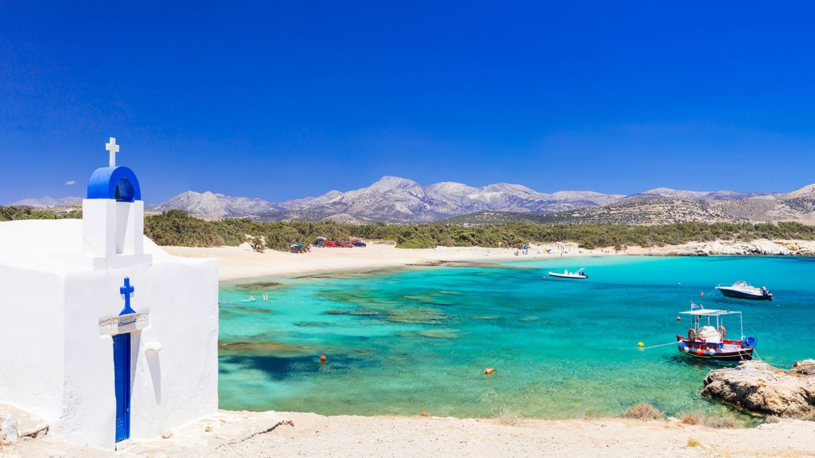 The largest of the Cyclades, Naxos, is home to secluded mountain villages, isolated beaches and ancient treasures.