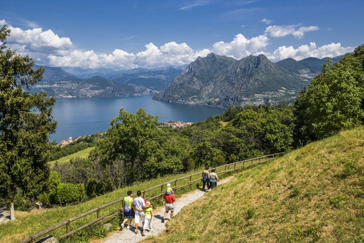You'll find fish on menus all around Lake Iseo, often paired with hyper-local wine from the ...