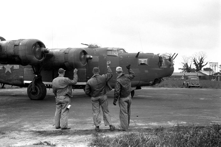 Consolidated B-24 Liberator Bombing Mission