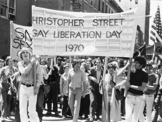 Inside the first Pride parade—a raucous protest for gay liberation