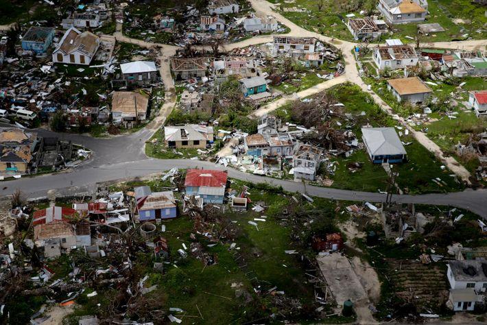 Barbuda inhabited after Hurricane Irma