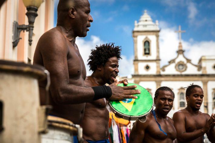 Head to Pracaerreiro de Jesus, in the historic neighbourhood of Pelourinho, to find capoeiristas performing in ...